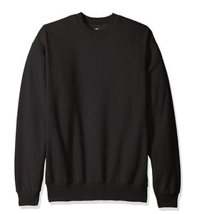 Men's Plain Fleece Sweatshirt!
